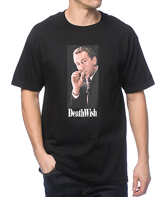 Deathwish Keep Your Mouth Shut Black T-Shirt