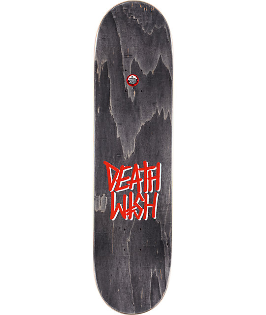 "Deathwish Lizard Creeps 8.125""  Skateboard Deck"