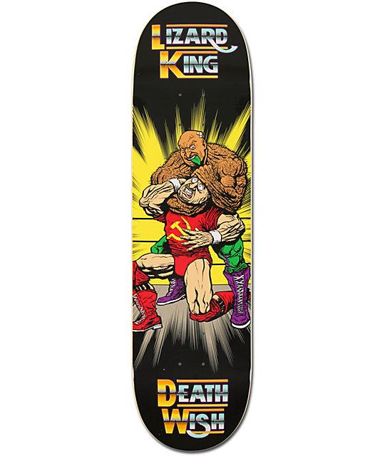 "Deathwish Lizard Deatharama 8.38""  Skateboard Deck"