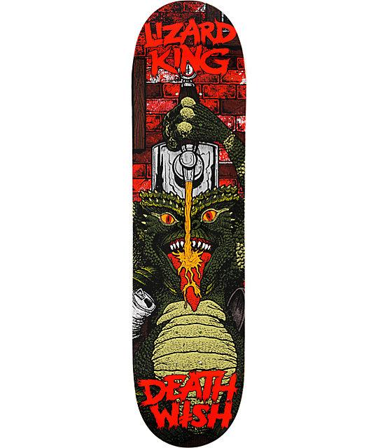 """Deathwish Lizard Goblin 8.0""""  Skateboard Deck"""