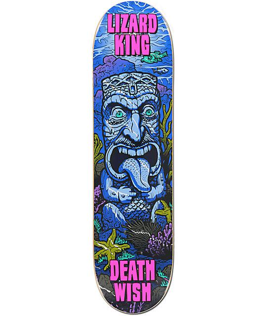 "Deathwish Lizard King Ruins 8.0""  Skateboard Deck"