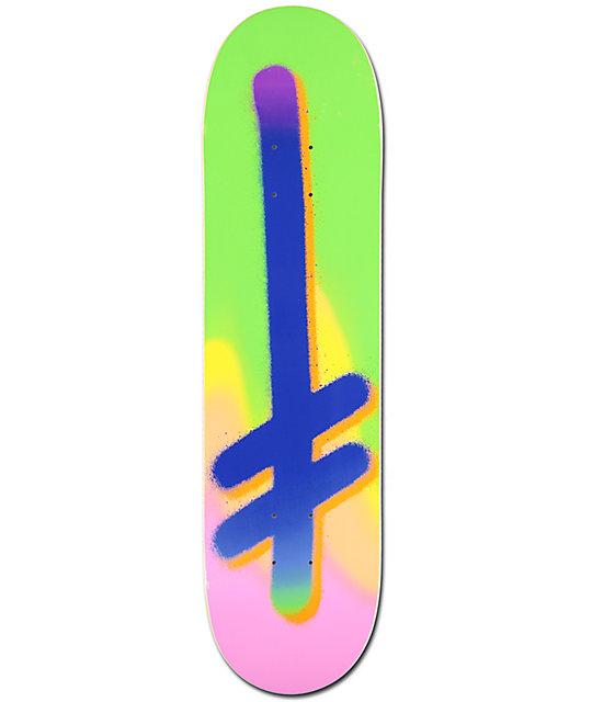 """Deathwish Logo Gradient 8.0"""" Skateboard Deck"""