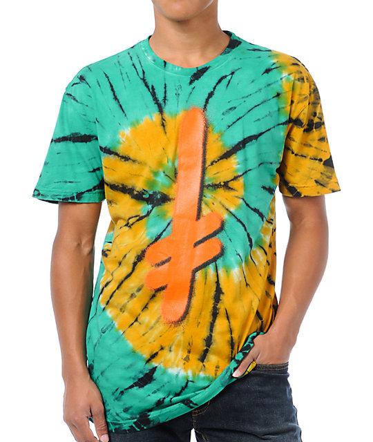 Deathwish Logo Tie-Dyed T-Shirt