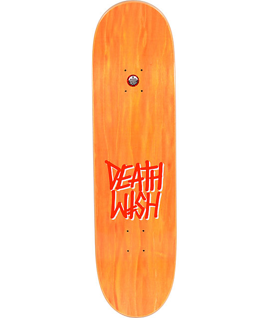 "Deathwish Matrix Red & Black 8.38""  Skateboard Deck"