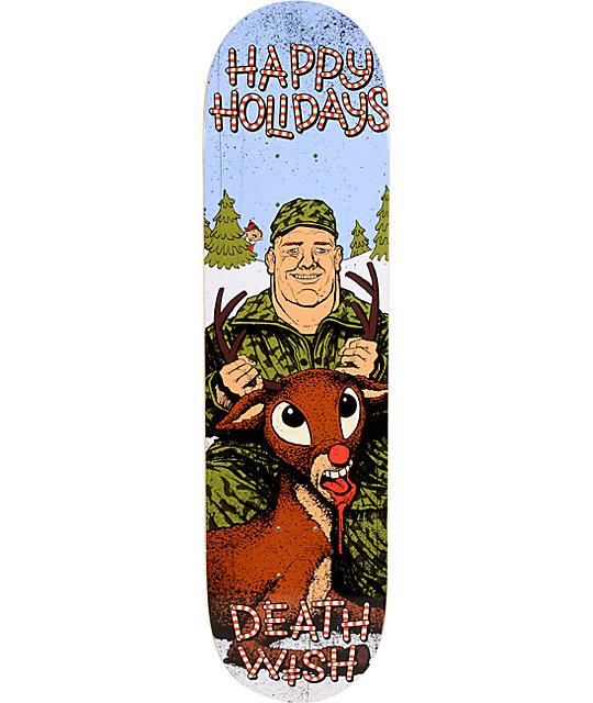 "Deathwish Reindeer Games 8.125""  Skateboard Deck"