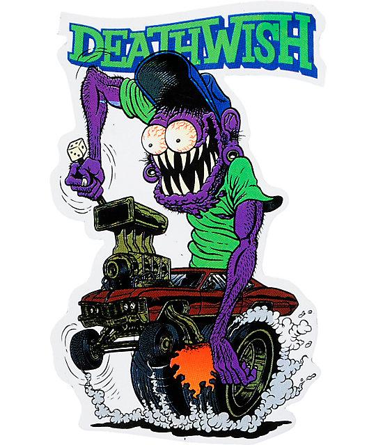 Deathwish Team Creeps Sticker