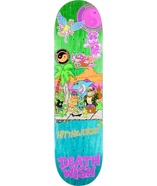 "Deathwish Team D&W 8.38""  Skateboard Deck"