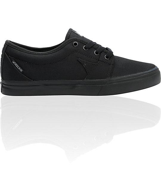 Dekline BLYE Black Shoes