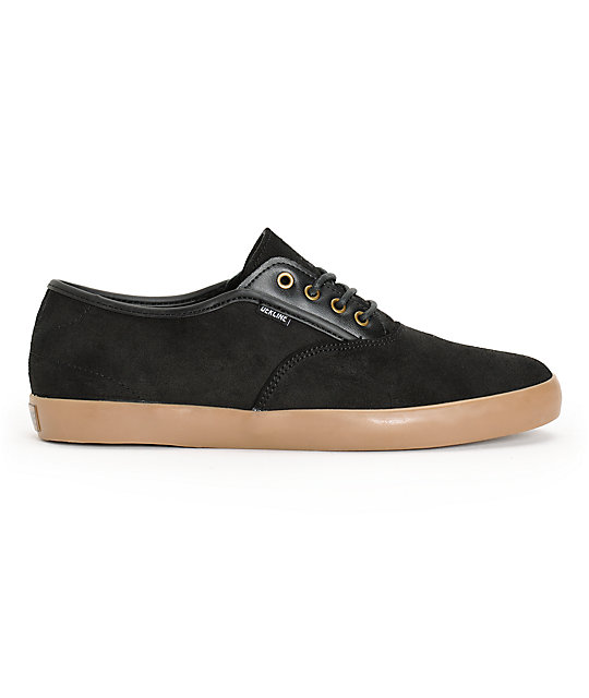 Dekline Daily Waxed Suede Skate Shoes