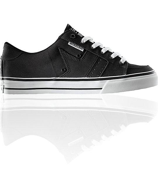 Dekline Paxton Black Canvas Shoes