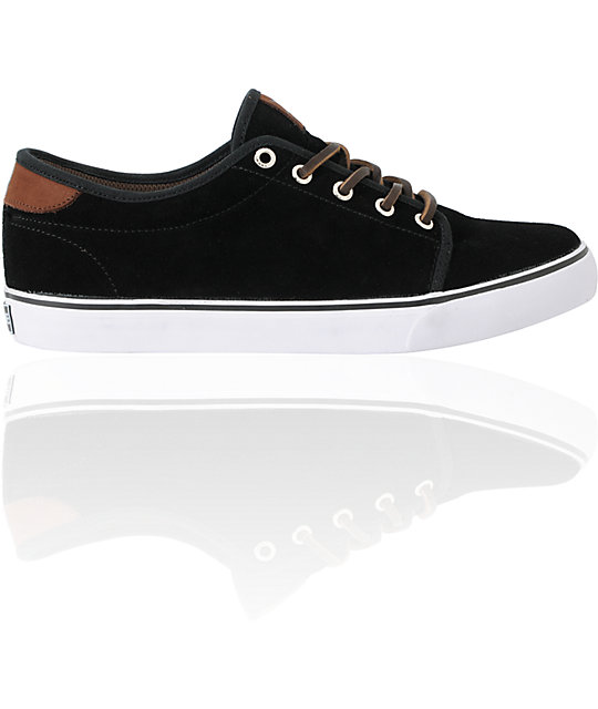 Dekline Santa Fe Black Suede Tim Tim Skate Shoes