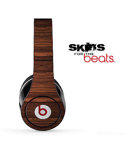 Design Skinz Beats Studio Wood Grain Headphone Skin