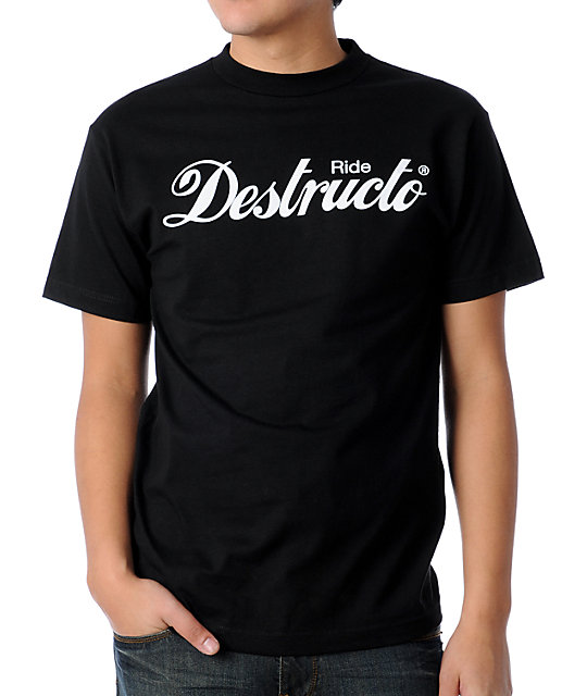 Destructo Ride Destructo Black T-Shirt
