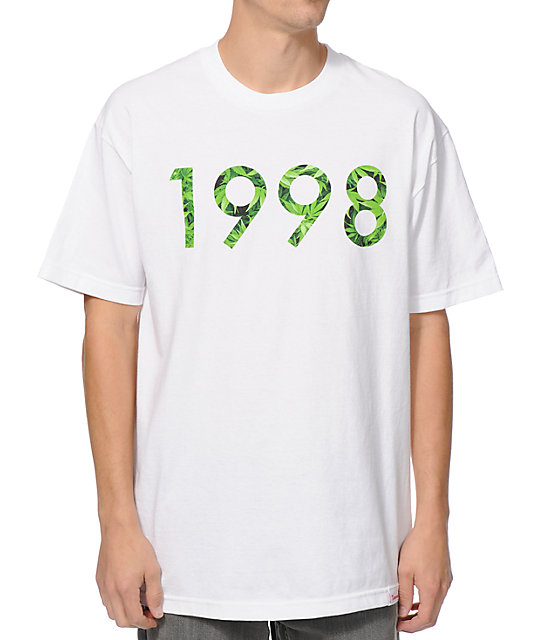 Diamond Supply Co 1998 Hemp White T-Shirt