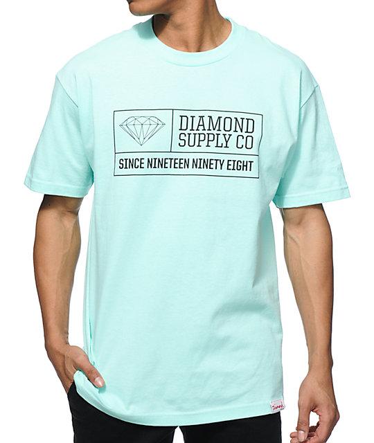 Diamond supply co 1998 t shirt for Wholesale diamond supply co shirts