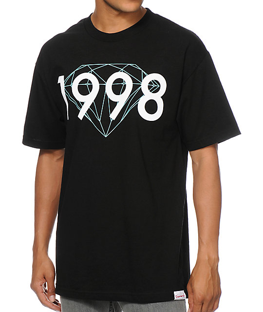 Diamond Supply Co 98 Brilliant Black T-Shirt