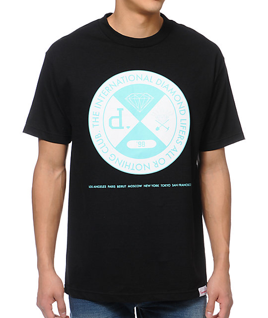 Diamond Supply Co All Or Nothing Black T-Shirt