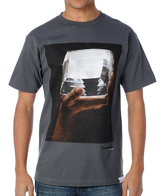 Diamond Supply Co Almighty Diamond Grey T-Shirt