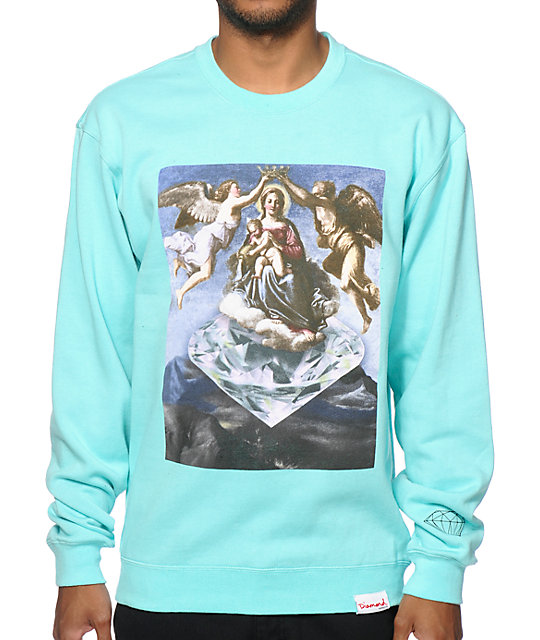 Diamond Supply Co Ascent Crew Neck Sweatshirt