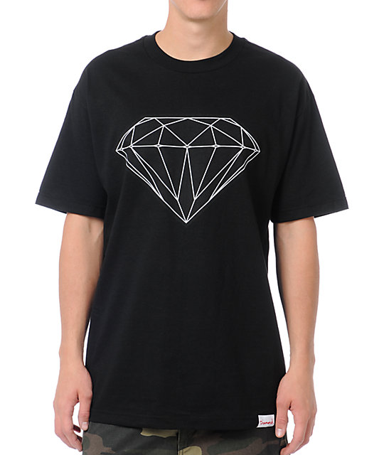 Diamond Supply Co Big Brilliant Black T-Shirt