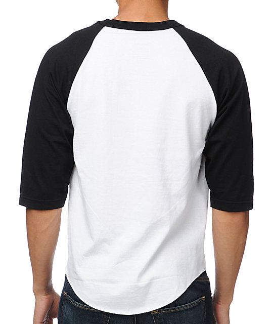 Diamond Supply Co Big Brilliant White & Black Baseball T-Shirt