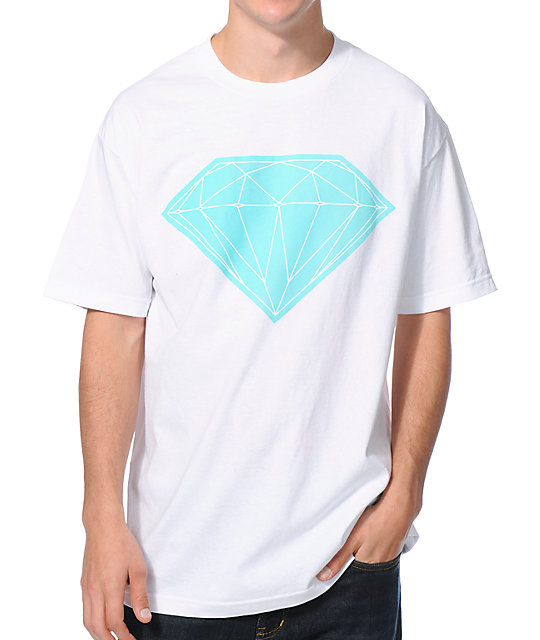 Diamond Supply Co Big Brilliant White T-Shirt