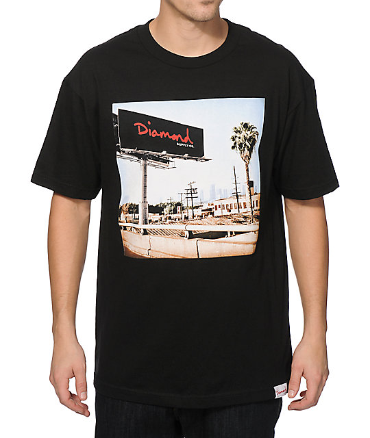 diamond supply co billboard tshirt