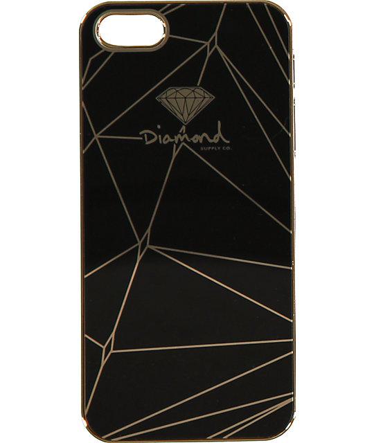 Diamond Supply Co Black Gold IPhone 5 Snap On Case