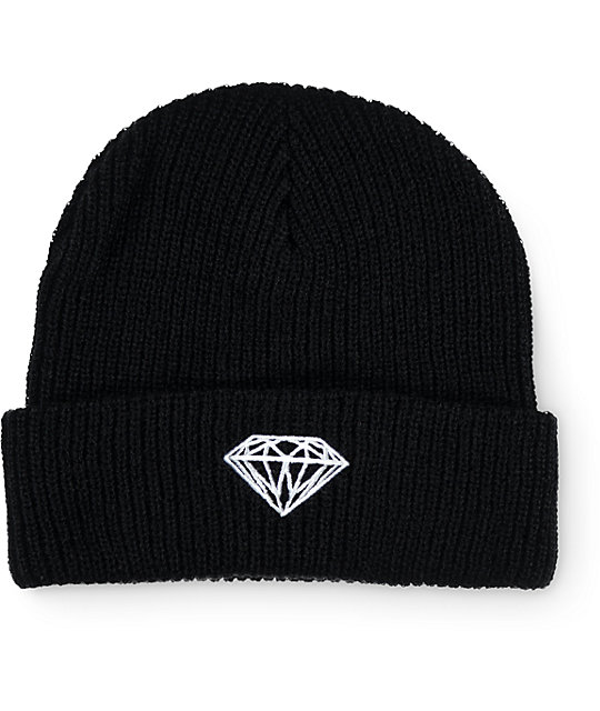 Diamond Supply Co Brilliant Black Beanie