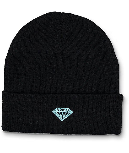 Diamond Supply Co Brilliant Black Beanie