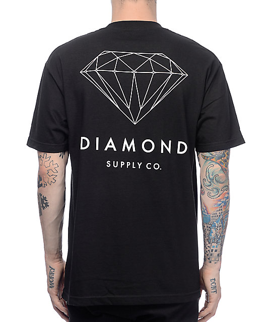 Diamond Supply Co Brilliant Black T-Shirt