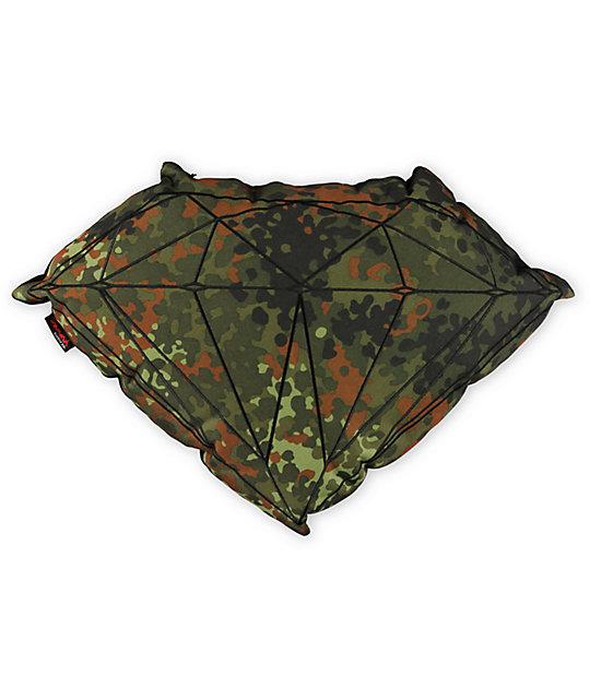 Diamond Supply Co Brilliant Camo Pillow