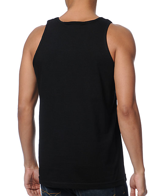 Diamond Supply Co Brilliant Glass Black Tank Top