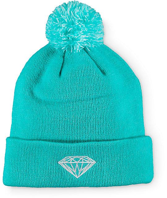 Diamond Supply Co Brilliant Pom Beanie