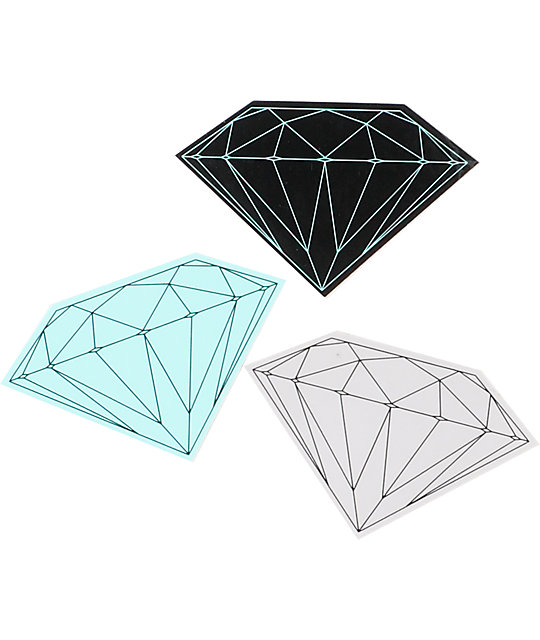 Diamond Supply Co Brilliant Vinyl Sticker