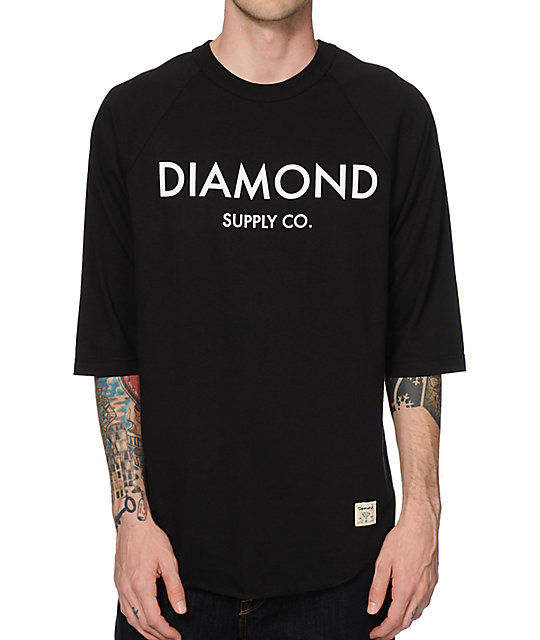 Diamond Supply Co Classic Baseball T-Shirt