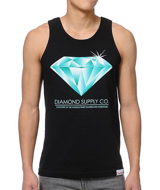 Diamond Supply Co Creators Black Tank Top