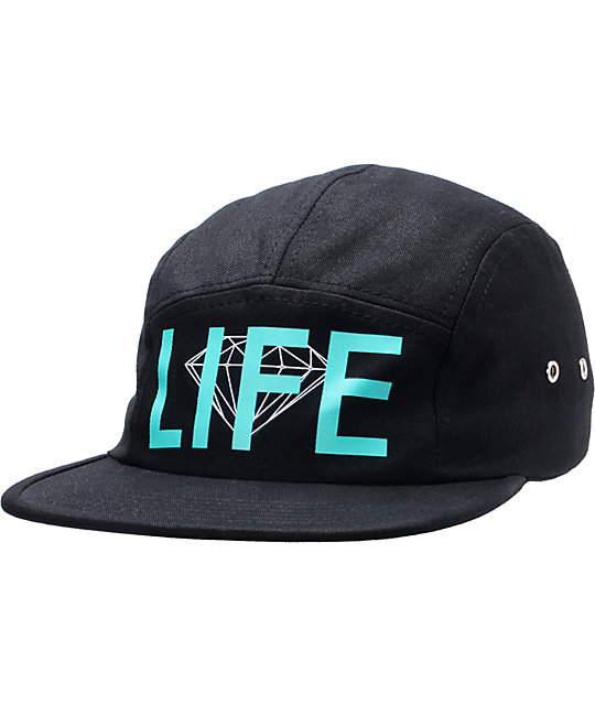 Diamond Supply Co D-Life 5 Panel  Hat