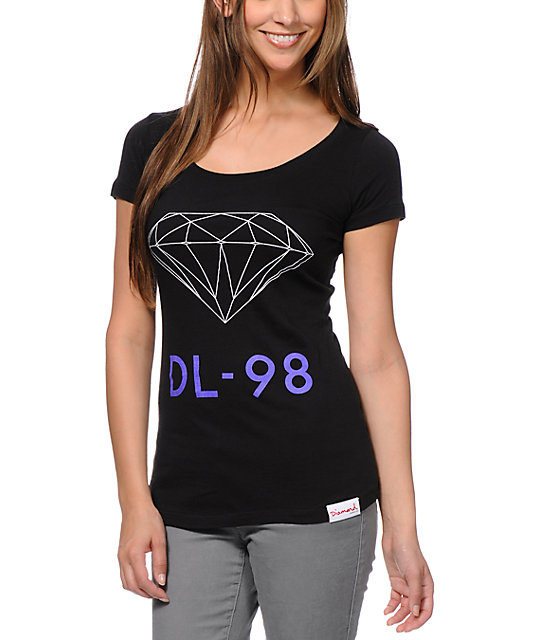 Diamond Supply Co DL-98 Black T-Shirt