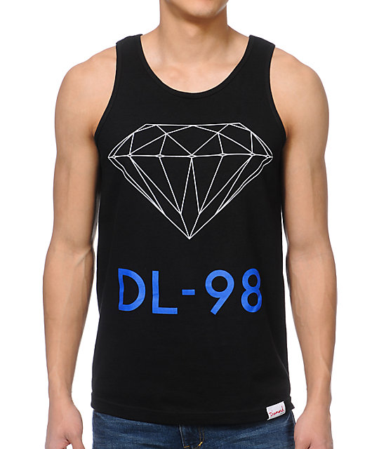 Diamond Supply Co DL-98 Black Tank Top