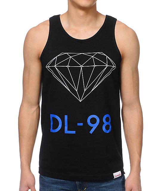 Diamond Supply Co DL-98 Black Tank Top