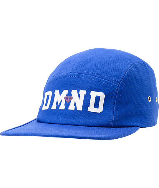 Diamond Supply Co DMND Blue 5 Panel Hat