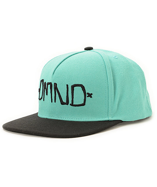 Diamond Supply Co DMND Mint & Black Snapback Hat
