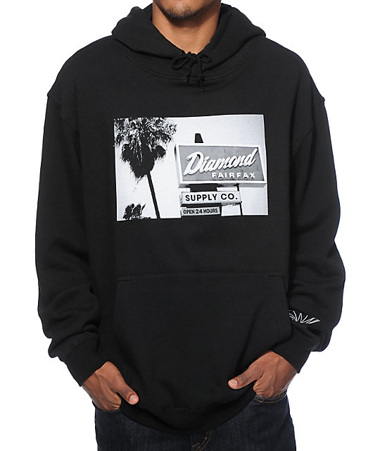 Diamond Supply Co Deli Hoodie