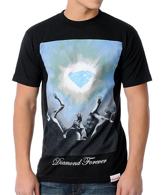 Diamond Supply Co Diamond 4-Ever Black T-Shirt