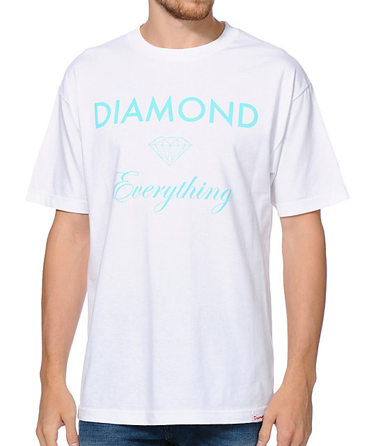 Diamond Supply Co Diamond Everything White T-Shirt