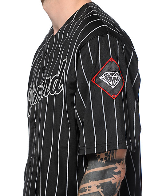 Diamond Supply Co Diamond League Baseball Jersey