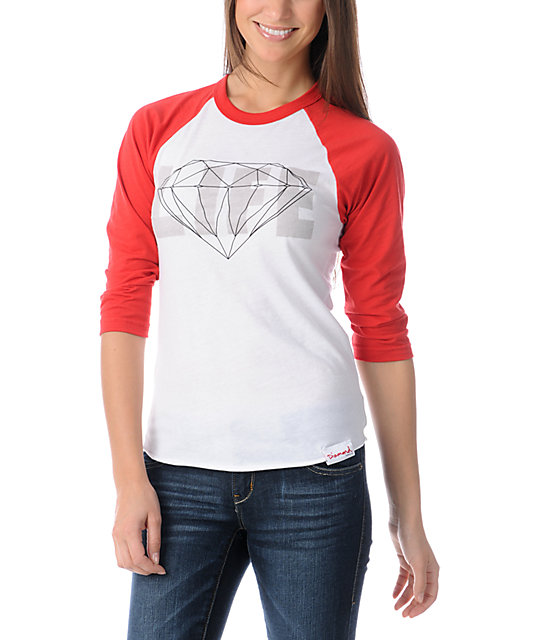 Diamond Supply Co Diamond Life Baseball Tee