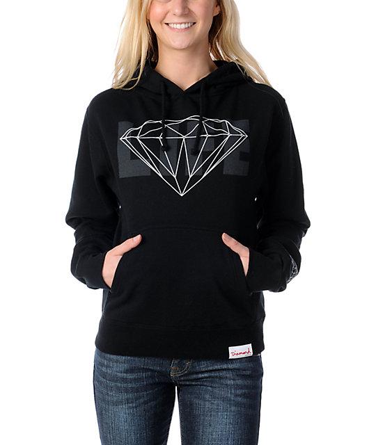Diamond Supply Co Diamond Life Black Pullover Hoodie