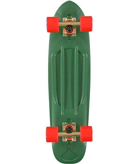 "Diamond Supply Co Diamond Life Green 24""  Cruiser Complete Skateboard"